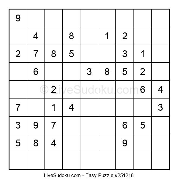 Beginners Puzzle #251218