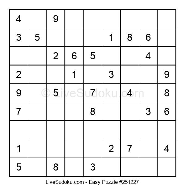 Beginners Puzzle #251227