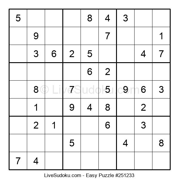 Beginners Puzzle #251233