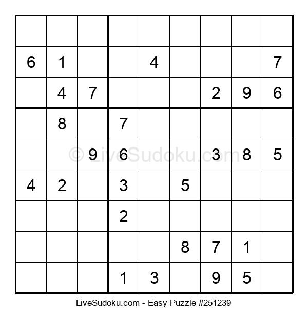 Beginners Puzzle #251239