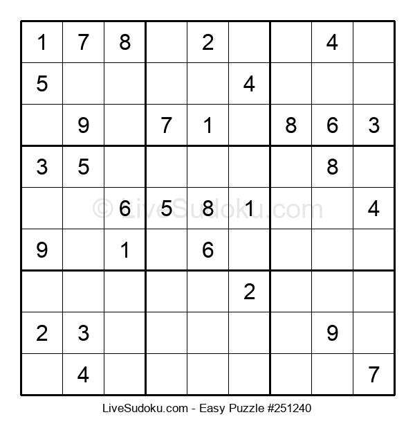 Beginners Puzzle #251240
