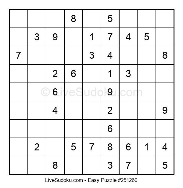 Beginners Puzzle #251260