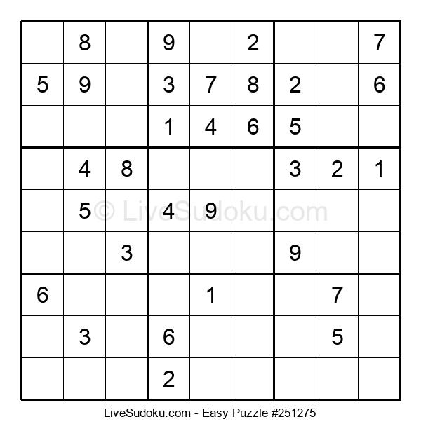Beginners Puzzle #251275