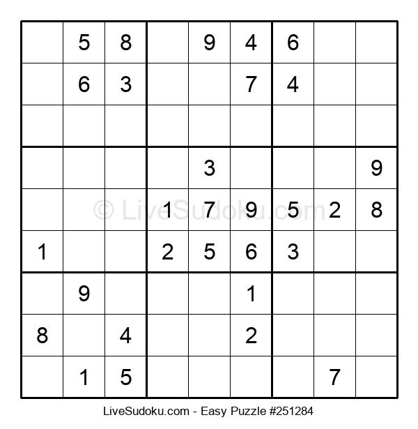 Beginners Puzzle #251284