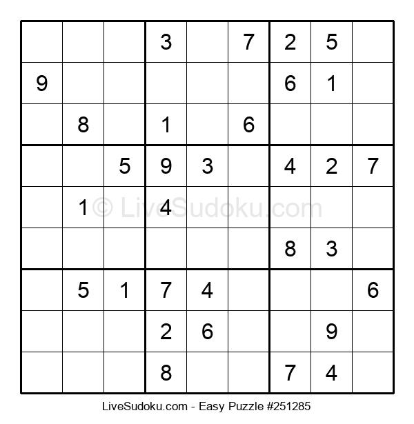 Beginners Puzzle #251285
