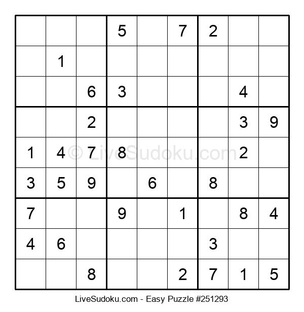 Beginners Puzzle #251293