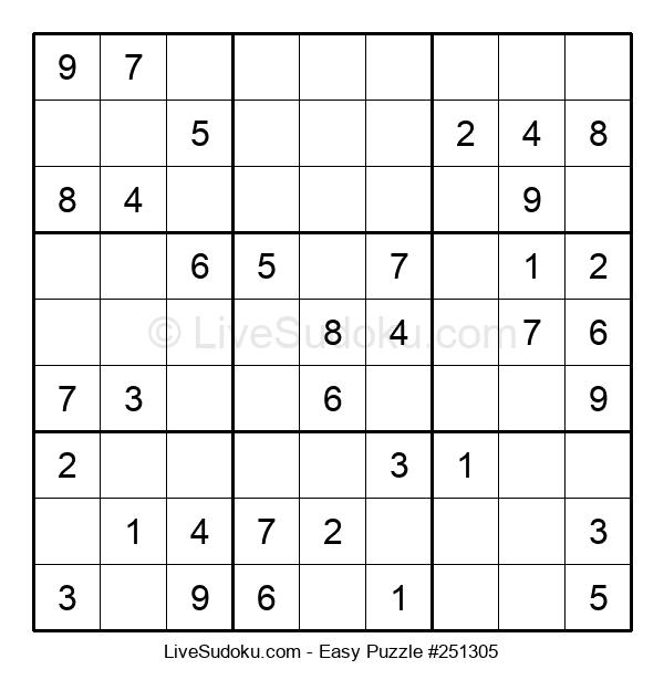 Beginners Puzzle #251305