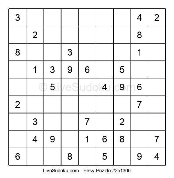 Beginners Puzzle #251306