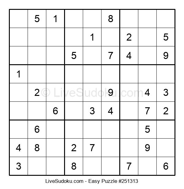 Beginners Puzzle #251313