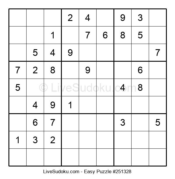 Beginners Puzzle #251328