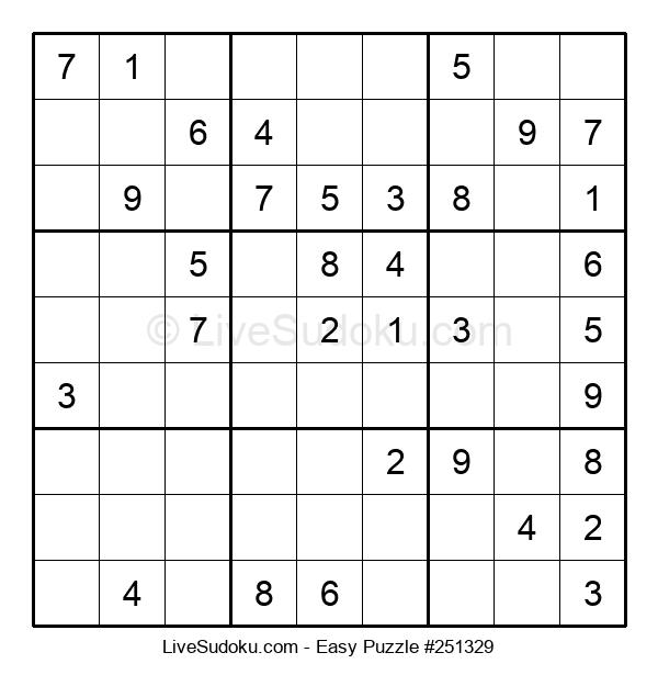 Beginners Puzzle #251329
