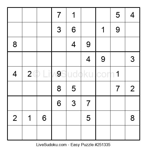 Beginners Puzzle #251335
