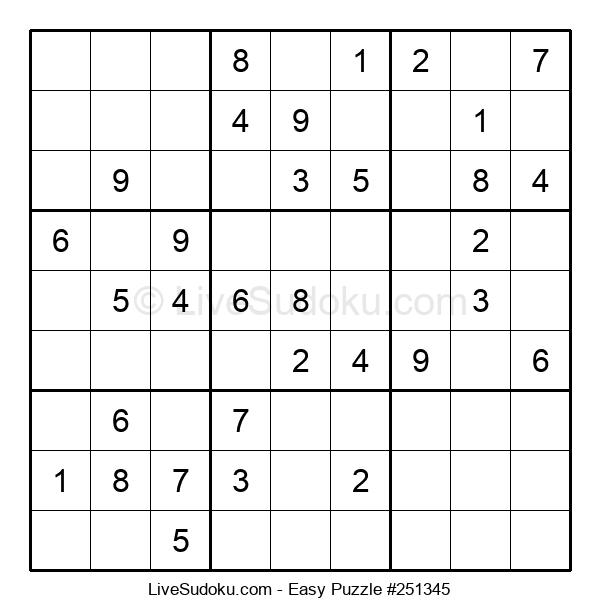 Beginners Puzzle #251345