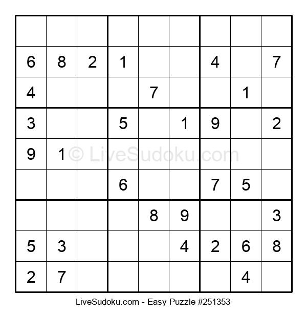 Beginners Puzzle #251353