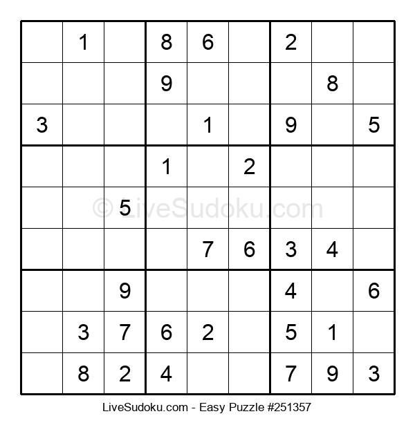 Beginners Puzzle #251357