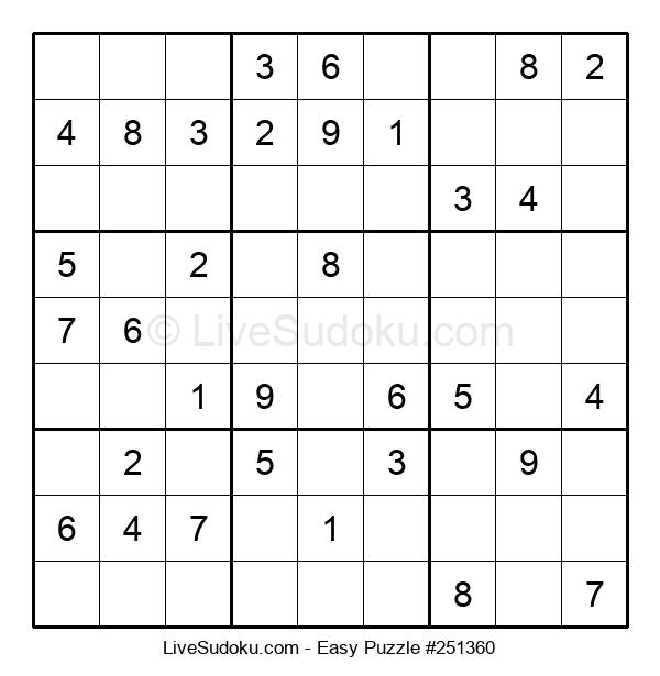 Beginners Puzzle #251360