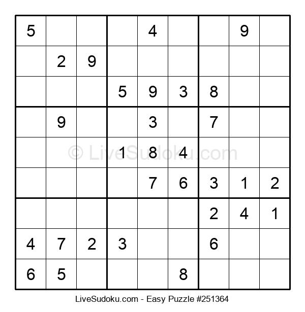 Beginners Puzzle #251364