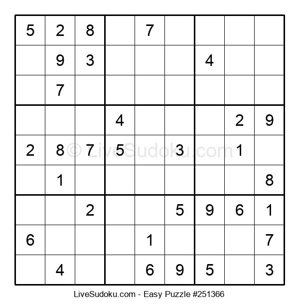 Beginners Puzzle #251366