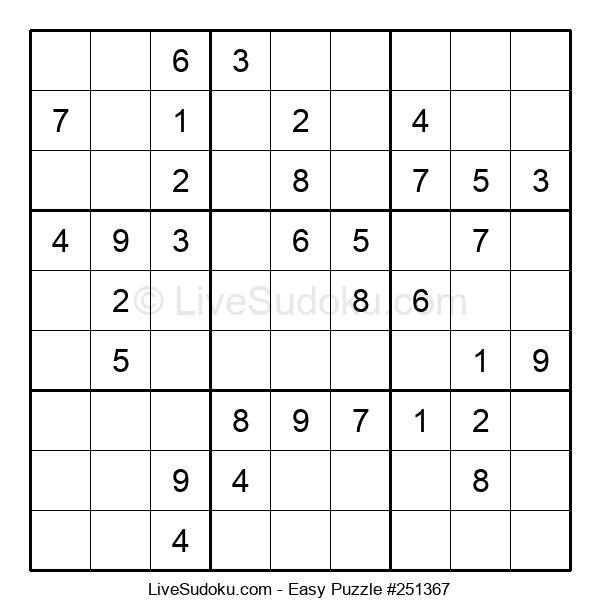 Beginners Puzzle #251367