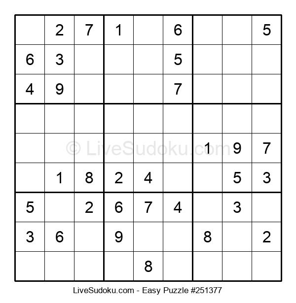 Beginners Puzzle #251377