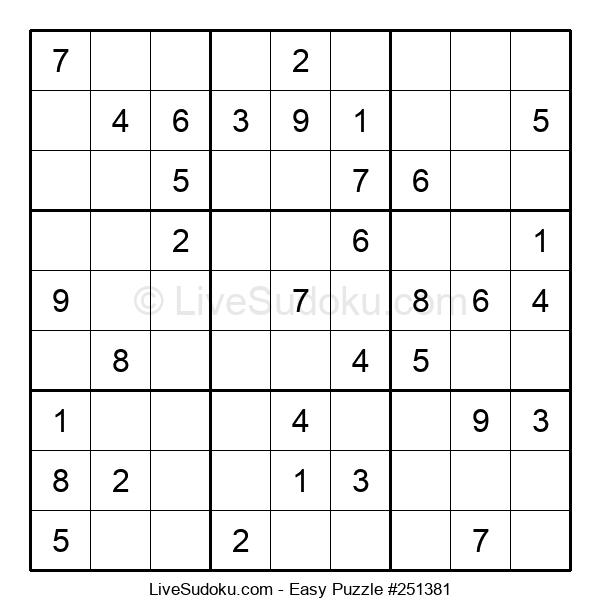 Beginners Puzzle #251381