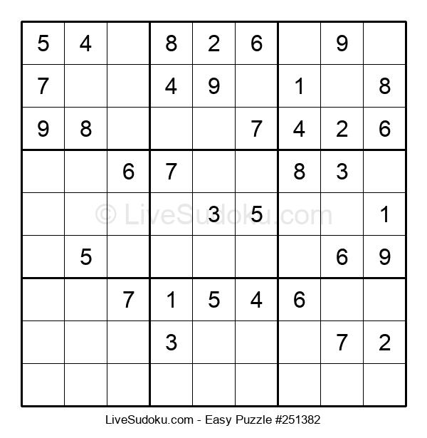 Beginners Puzzle #251382