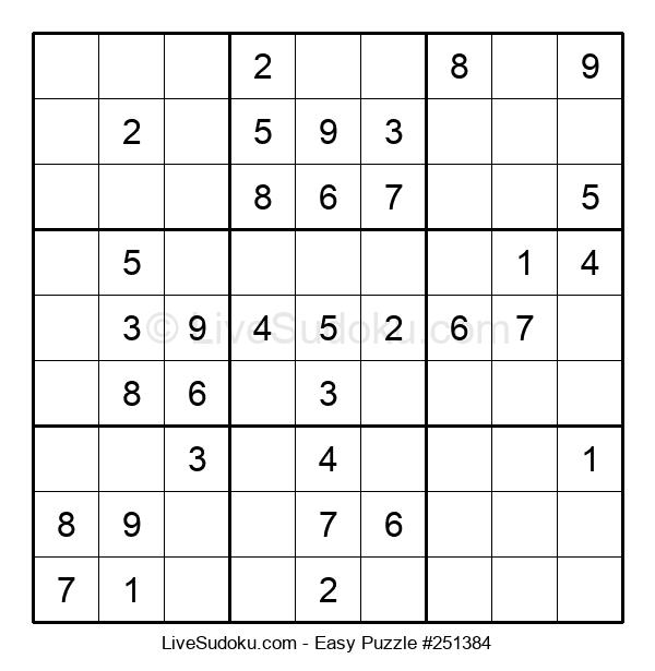 Beginners Puzzle #251384