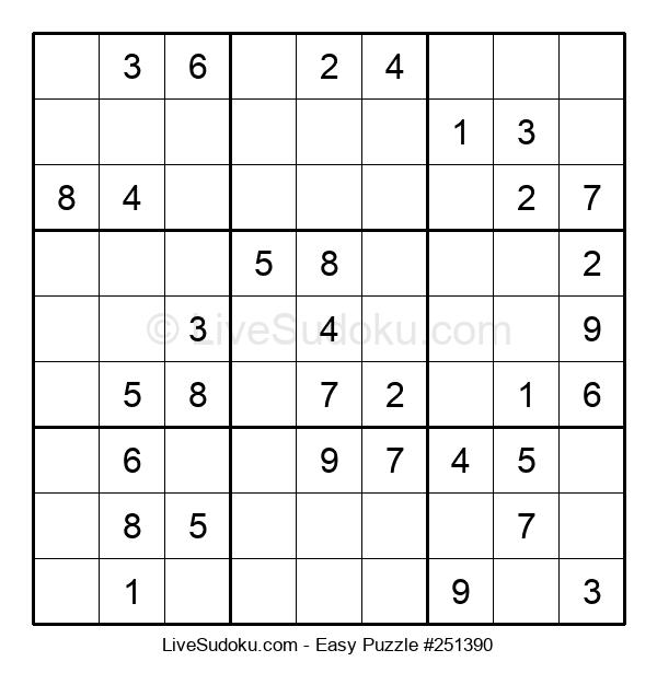 Beginners Puzzle #251390
