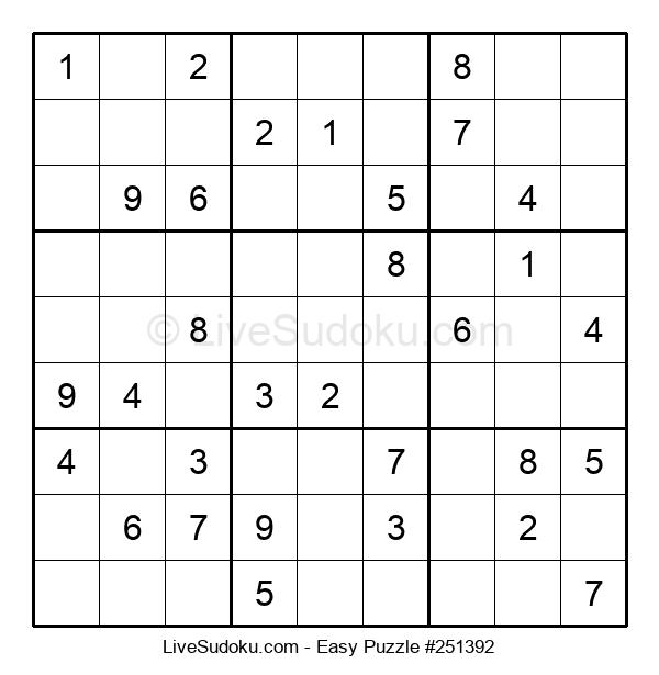 Beginners Puzzle #251392
