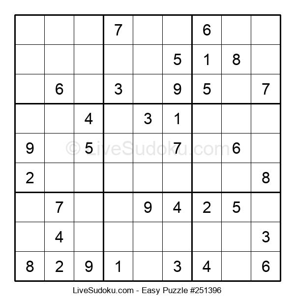 Beginners Puzzle #251396
