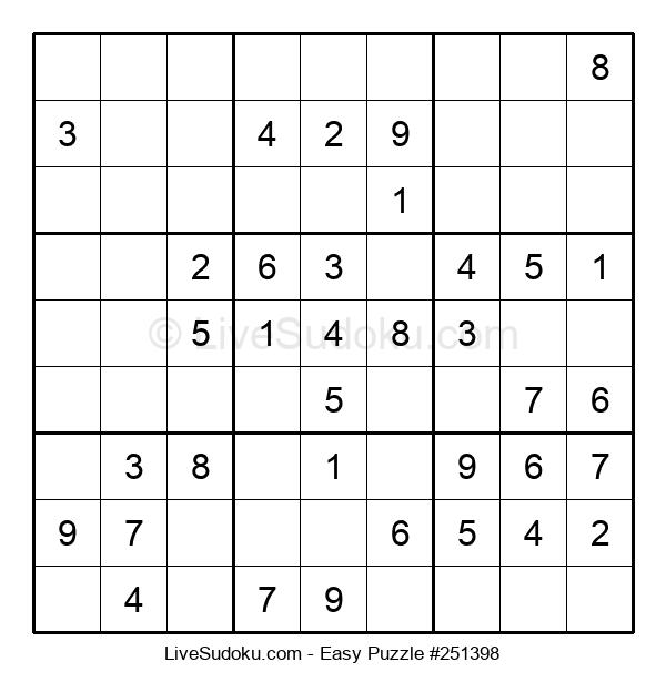 Beginners Puzzle #251398