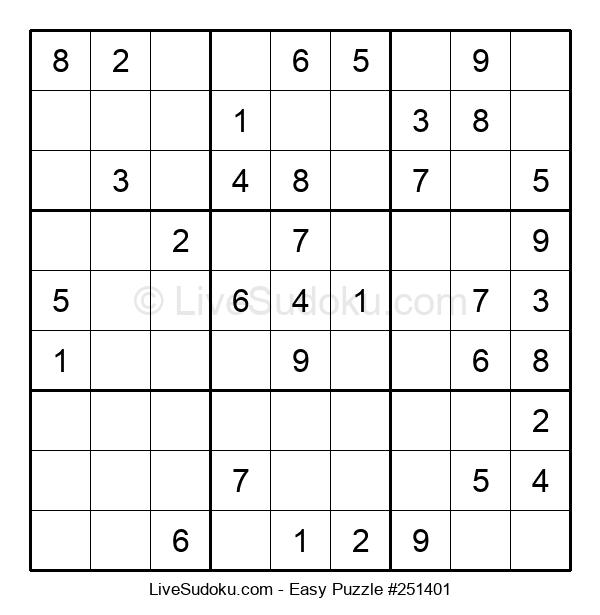Beginners Puzzle #251401