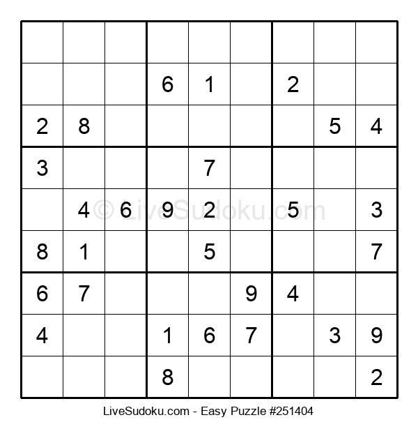 Beginners Puzzle #251404