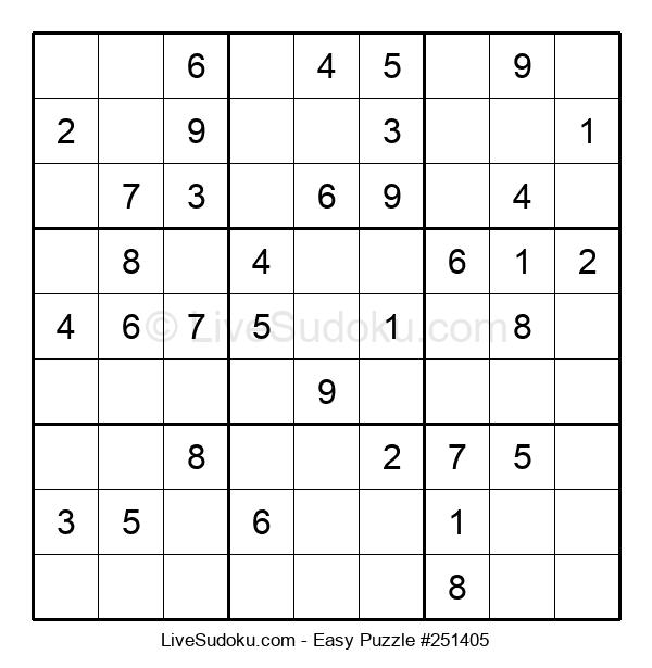 Beginners Puzzle #251405