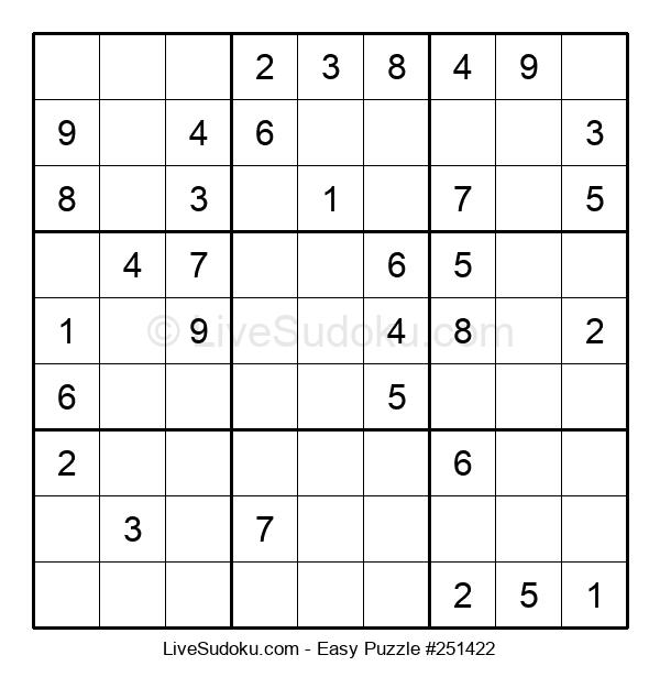 Beginners Puzzle #251422