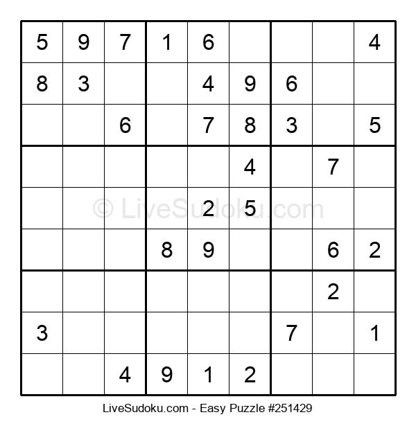Beginners Puzzle #251429