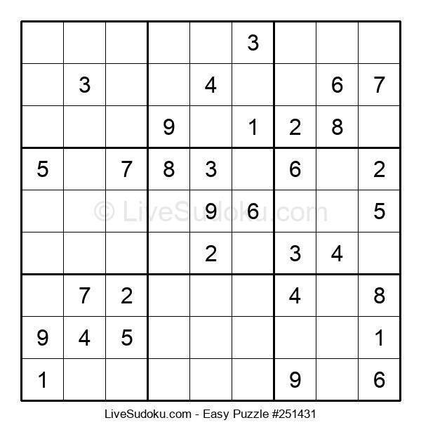 Beginners Puzzle #251431