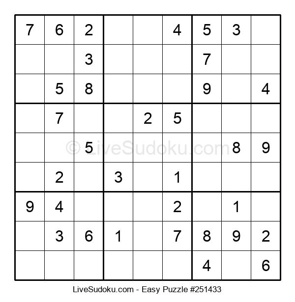 Beginners Puzzle #251433