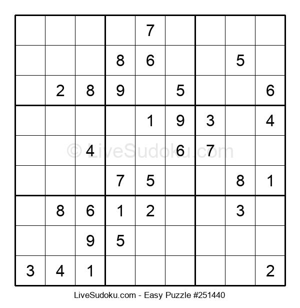 Beginners Puzzle #251440