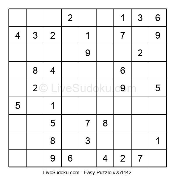 Beginners Puzzle #251442
