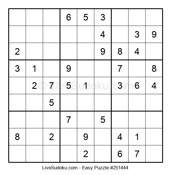Beginners Puzzle #251444