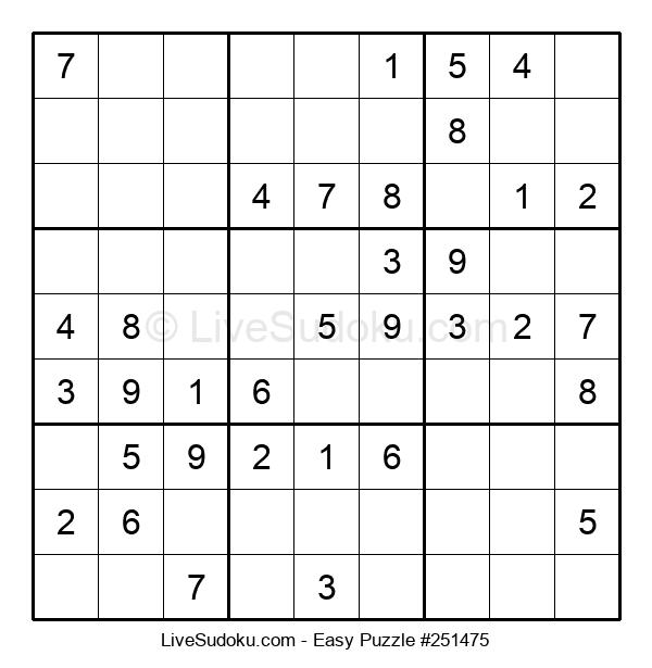 Beginners Puzzle #251475
