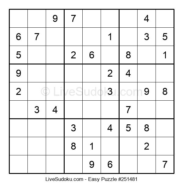 Beginners Puzzle #251481