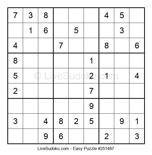 Beginners Puzzle #251487