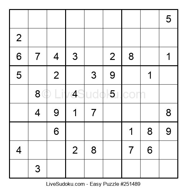 Beginners Puzzle #251489