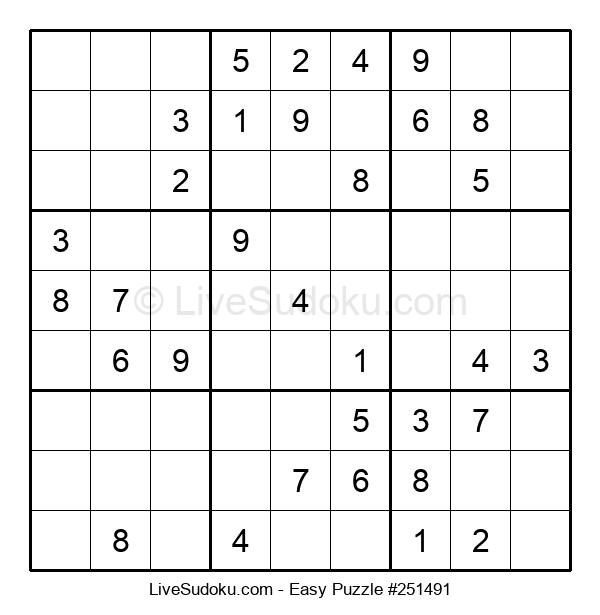 Beginners Puzzle #251491
