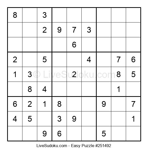 Beginners Puzzle #251492