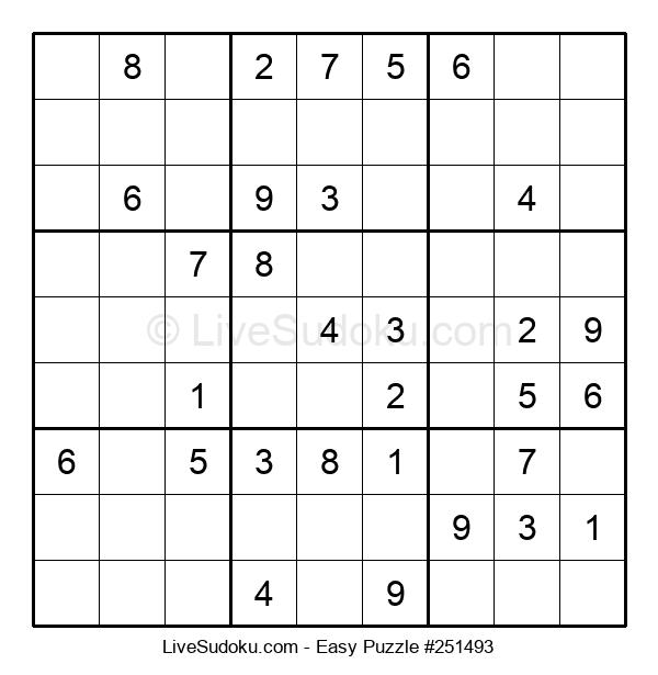 Beginners Puzzle #251493