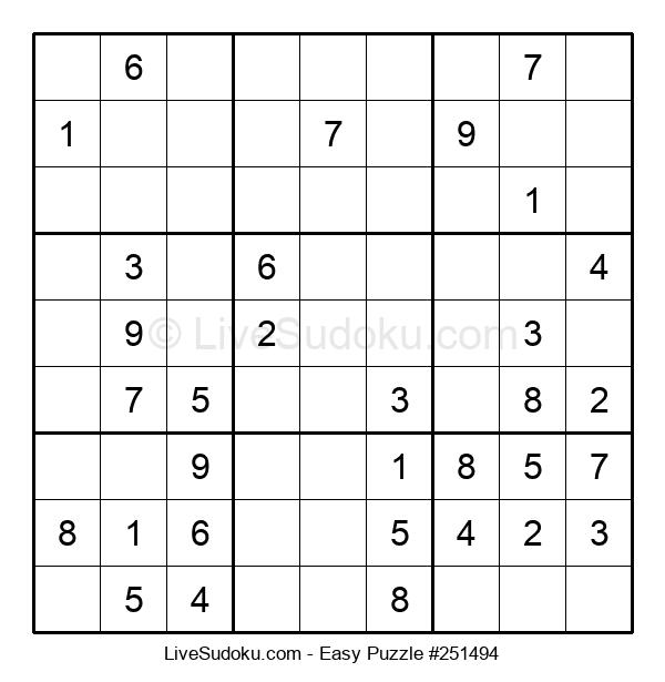 Beginners Puzzle #251494