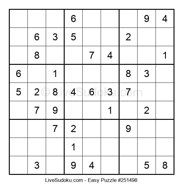 Beginners Puzzle #251498